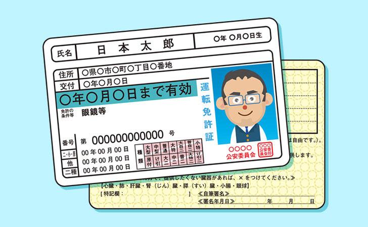 氏名 証 変更 免許 運転