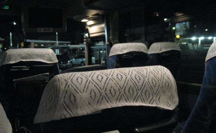 夜行バスでディズニー